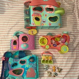 Other - Littlest Pet Shop House and Animal Lot